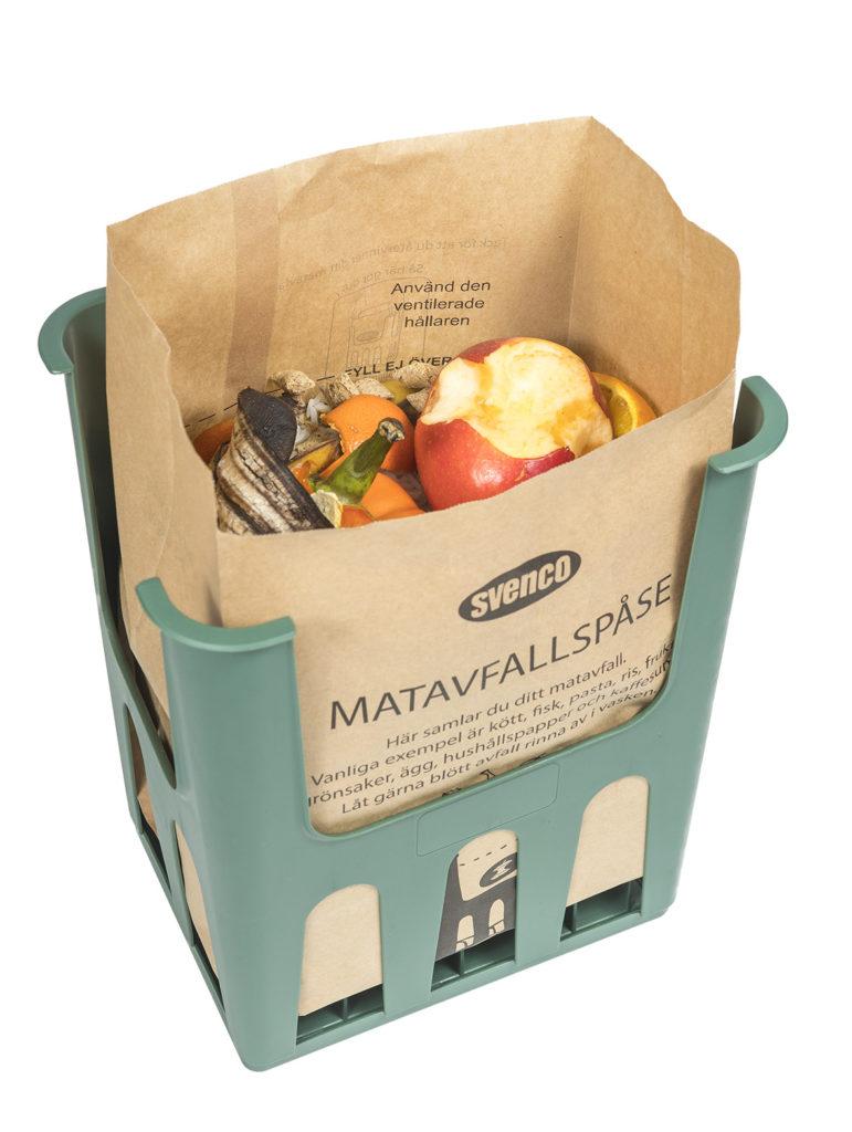Svenco Matavfallspåse fylld med matavfall