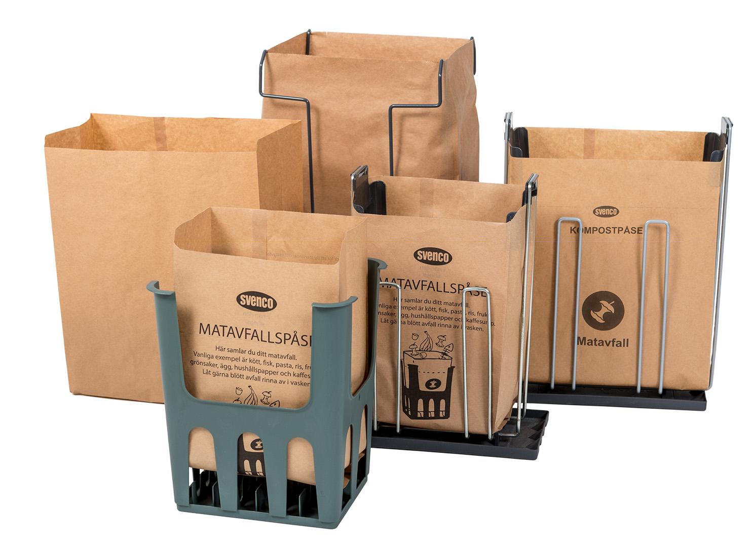 Påsar för matavfallsinsamling - Svenco