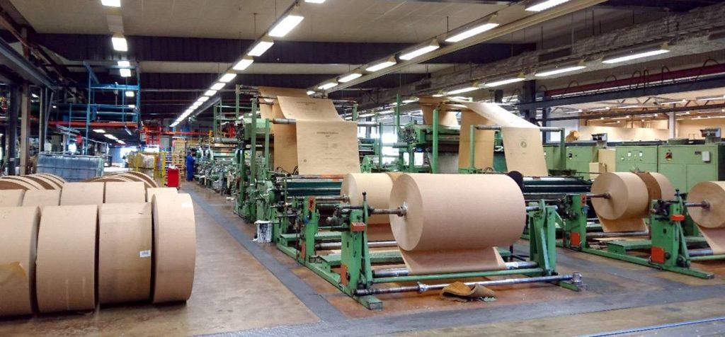 Fabriken Svenco Papperssäckar, Fabrik